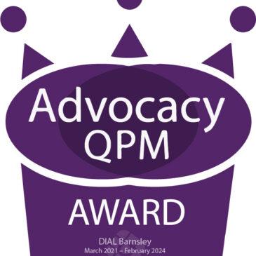 DIAL Advocacy award